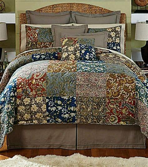 Paisley Patchwork Quilt - noble excellence talavera patchwork paisley floral 3