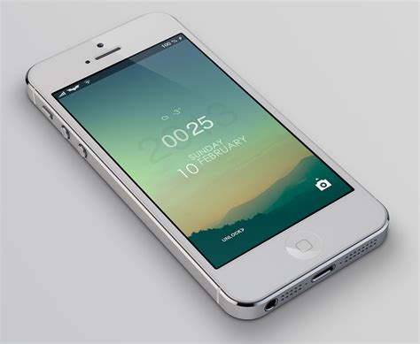 lockscreen themes cydia ls climacons a tranquil theme for your lock screen