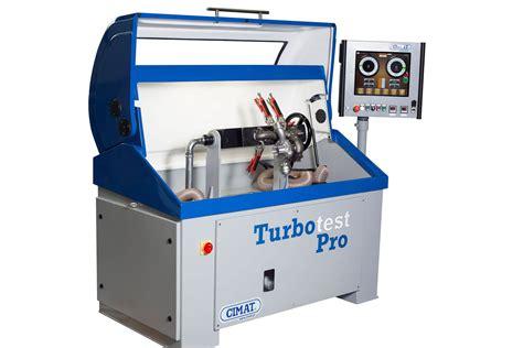 turbocharger test bench vnt flow benches cimat balancing machines