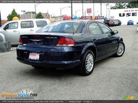 Chrysler Sebring Touring 2005 by 2005 Chrysler Sebring Touring Sedan Blue Pearl