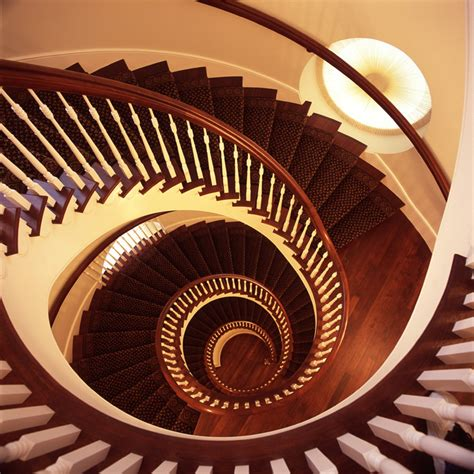 Nauvoo Temple Interior by The Trumpet Temple Spiral Staircases