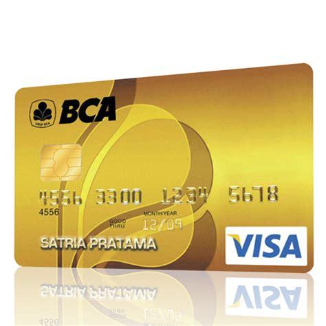 bca debit platinum bca pilihan kartu kredit bca