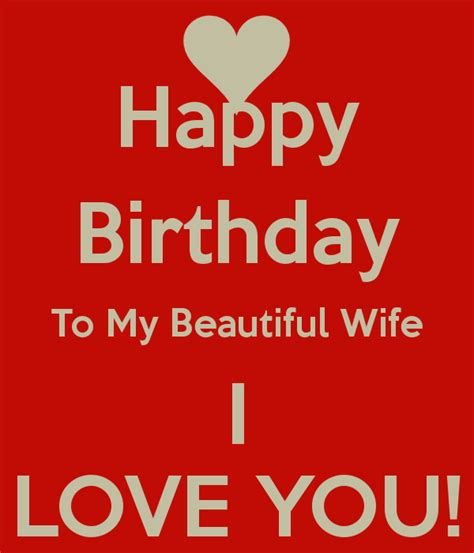Happy Birthday To My In Quotes Wishing Happy Birthday To My Wife Quotes Cute Love Texts