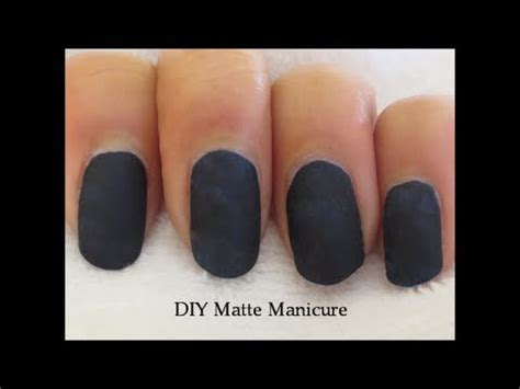 how to make any nail matte diy matte without matte nail