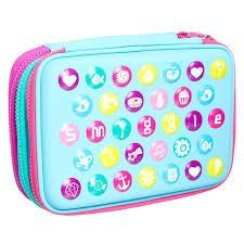 Smiggle Work It Out Hardtop Pencilcase Original New Arrival Promo smiggle hardtop pencil co uk office products
