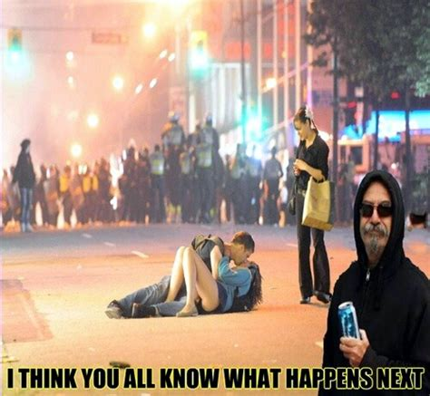 Vancouver Riot Kiss Meme - memedroid images tagged as i think i messed it up