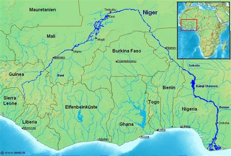 niger river map experience the lighthouse herald