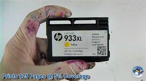 Cartridge Hp 933xl Yellow inside hp 933xl cn056ae yellow ink cartridge