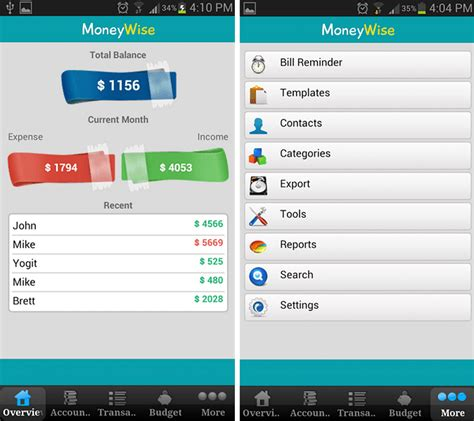 2014 best android apps for personal finance