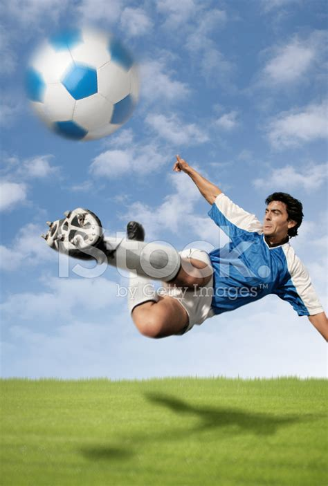 best soccer best soccer player hitting the stock photos