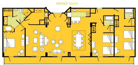 disney world boardwalk villas floor plan 3bdrm villa bw vs okw the dis disney discussion forums