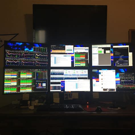 The Trading Desk by Trading Desks And Monitors From 24 Top Traders
