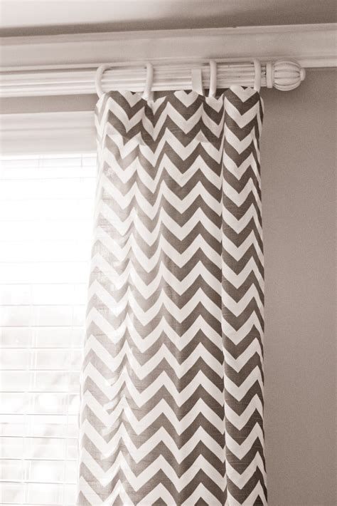 White And Grey Chevron Curtains Grey Chevron Curtains I My House But I Can Always Use A Change