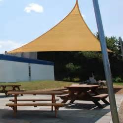shadelogic sun shade sail heavy weight 16 foot triangle