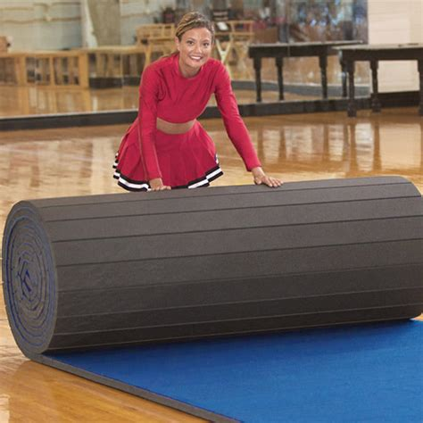 Roll Out Cheer Mats by Cheer Mats 6x42 Ft X 1 3 8 Inch Poly Roll