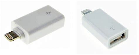 lightning to usb adapter this usb to lightning adapter promises to let you transfer