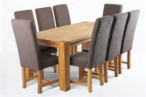 Oak Dining Room Table And Chairs Fabric Dining Chair With Oak Legs Tiramisu