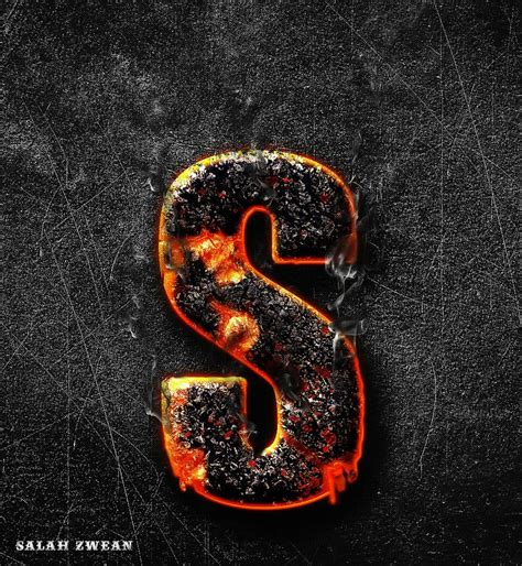 cool letter styles  fire style letter   tancy
