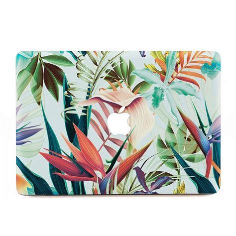 Macbook Skin Aufkleber by Tropical Flowers Macbook Skin Aufkleber