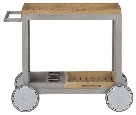 servierwagen outdoor alfresco cart minimalistisch outdoor