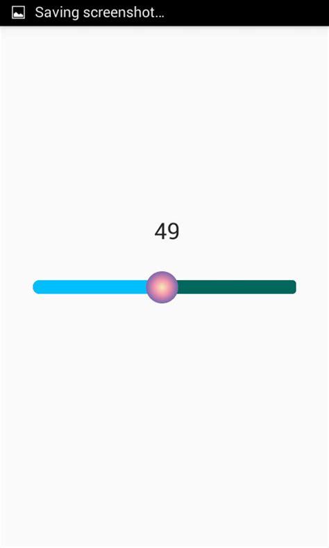 android tutorial create custom seekbar in android exle tutorial