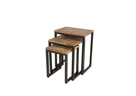 table basse gigogne suri set de 3 boite 224 design
