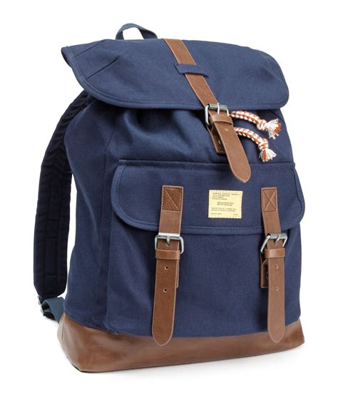 Backpack H M by H M Backpack In Blue For Lyst
