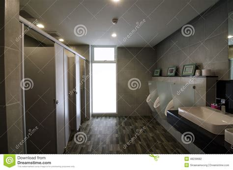 public bathroom men luxury male public restroom stock photo image 48239682