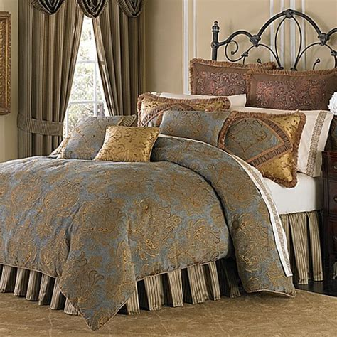California King Bedding Set Buy Michael Amini 4 Reversible California King Comforter Set From Bed Bath Beyond