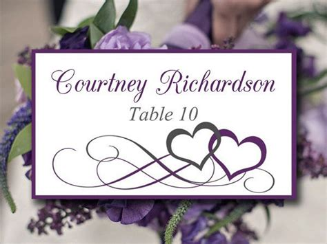 diy wedding reception place cards diy wedding place card template heart escort card