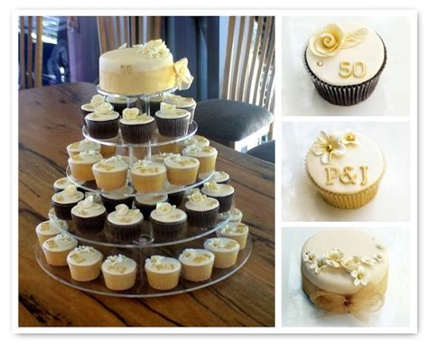 Wedding Gift Ideas Perth by Sugarbloom Cupcakes Perth Wa 50th Golden Wedding