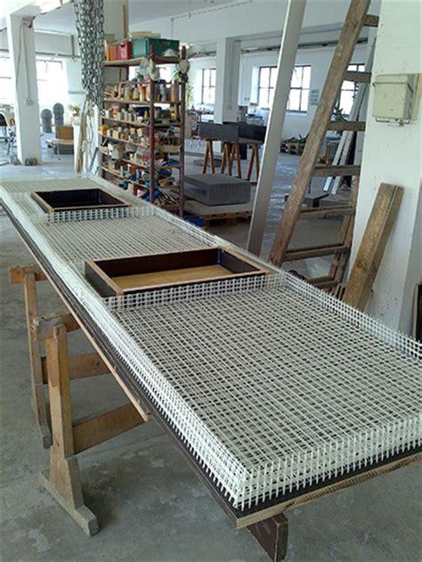Küche mit textilbewehrter Betonarbeitsplatte   Beton.org