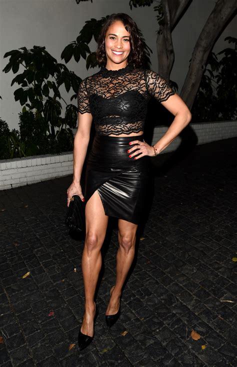 Top Paula 1 paula patton sheer top newest looks stylebistro