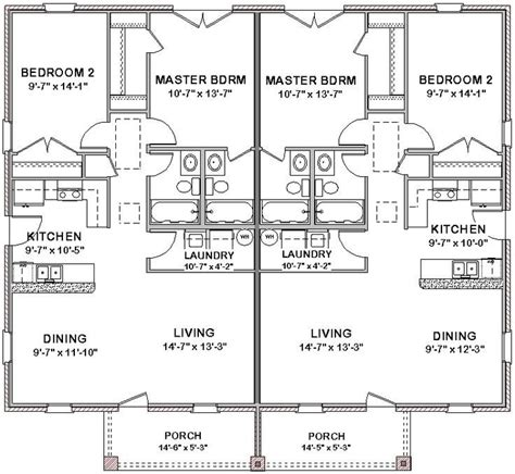 best duplex floor plans 1 bedroom duplex house plans new house floor plans 3