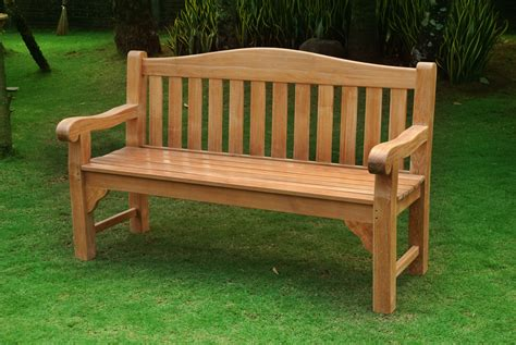 wood bench outdoor teak garden bench treenovation