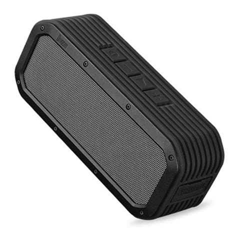 rugged outdoor speaker divoom voombox outdoor rugged portable bluetooth speaker black mobilezap australia