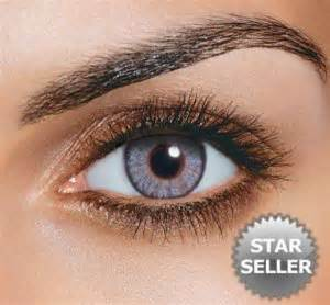 gray freshlook non prescription colored contact lenses by