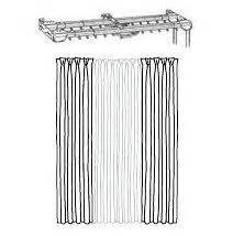 cord drawn curtain rods 147 best standard traverse rod sets cord draw images on