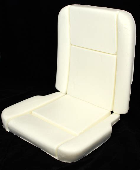 1965 mustang deluxe pony seat foam