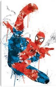 canvas prints with spider man icanvas