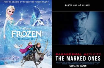 film frozen nikah frozen 2013 kalahkan paranormal activity di box