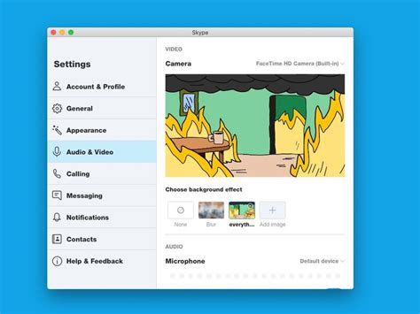 skype copies zoom  adds custom virtual backgrounds   mac app imore