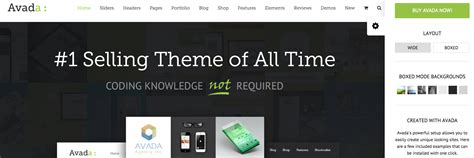avada theme homepage blog 20 high quality wordpress themes for web designers and