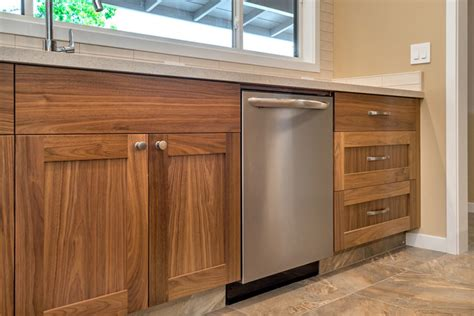 walnut shaker kitchen cabinets home with shaker walnut cabinets and somerset oak floors
