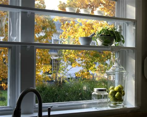 kitchen window shelf ideas diy 20 ideas of window herb garden for your kitchen