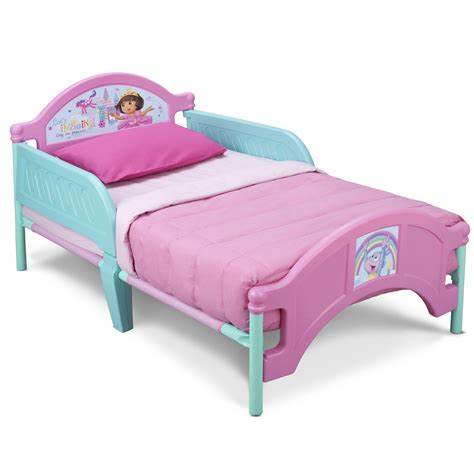 dora toddler bed nick jr dora the explorer bedroom set with bonus toy