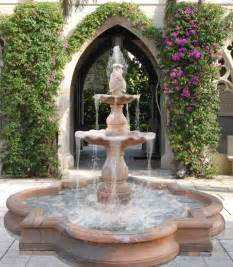 Backyard Fountains Ideas Fontes On Water Fountains Wall Fountains And Garden Fountains