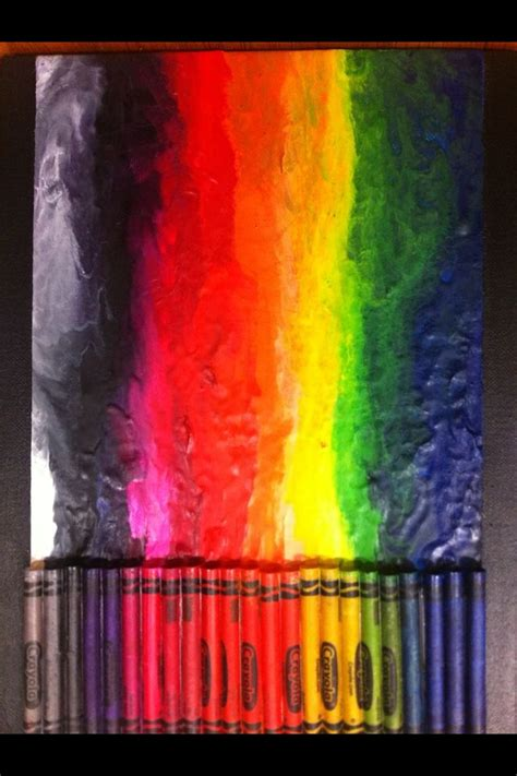 Crayon And Hairdryer 17 best images about crayon with dryer on hair dryer melted crayon and