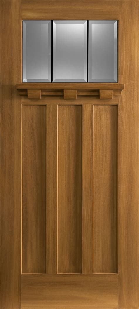 3 Panel Craftsman Interior Door Home Interior Plans Craftsman Closet Doors