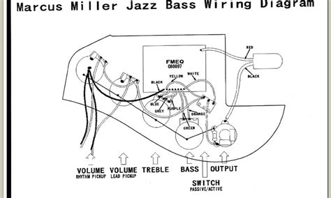 fender miller iv wiring diagram talkbass